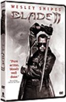Cover image for Blade II [DVD] / New Line Cinema presents an Amen Ra Films production in association with Imaginary Forces, a Guillermo Del Toro film ; producers, Peter Frankfurt, Wesley Snipes, Patrick Palmer ; writer, David S. Goyer ; directed by Guillermo Del Toro.