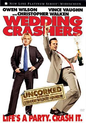 Cover image for Wedding crashers [DVD] / New Line Cinema presents a Tapestry Films production, a David Dobkin film ; produced by Peter Abrams, Robert L. Levy, Andrew Panay ; written by Steve Faber & Bob Fisher ; directed by David Dobkin.