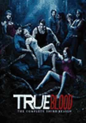 Cover image for True blood. The complete third season [DVD] / HBO Entertainment ; produced by Mark McNair ; created by Alan Ball ; Your Face Goes Here Entertainment ; a presentation of Home Box Office.