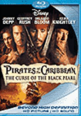 Cover image for Pirates of the Caribbean. The curse of the Black Pearl [blu-ray] / Walt Disney Pictures presents in association with Jerry Bruckheimer Films, a Gore Verbinski film ; produced by Jerry Bruckheimer ; screen story by Ted Elliott & Terry Rossio and Stuart Beattie and Jay Wolpert ; screenplay by Ted Elliott & Terry Rossio ; directed by Gore Verbinski.