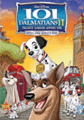 Cover image for 101 dalmatians II. Patch's London adventure [DVD] / Walt Disney Pictures ; produced by Carolyn Bates, Leslie Hough ; story by Garrett K. Schiff ; screenplay by Jim Kammerud and Brian Smith ; directed by Jim Kammerud, Brian Smith.