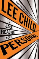 Cover image for Personal : a Jack Reacher novel / Lee Child.