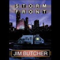 Cover image for Storm front [downloadable audiobook] / Jim Butcher.