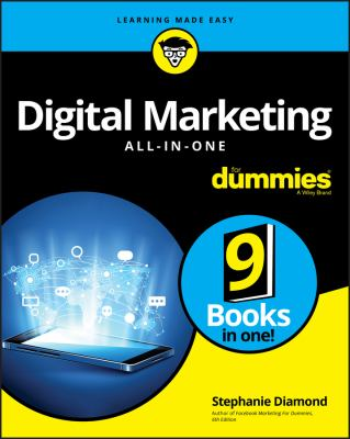 Cover image for Digital marketing all-in-one for dummies / by Stephanie Diamond.