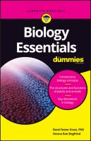 Cover image for Biology essentials / by Rene Fester Kratz, PhD and Donna Rae Siegfried ; with Medhane Cumbay and Traci Cumbay.