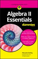 Cover image for Algebra II essentials / by Mary Jane Sterling.