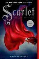 Cover image for Scarlet / written by Marissa Meyer.