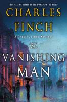 Cover image for The vanishing man / Charles Finch.