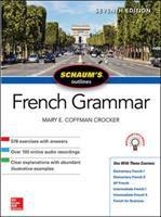 Cover image for Schaum's outlines : French grammar / Mary E. Coffman Crocker.