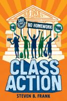 Cover image for Class action / by Steven B. Frank.