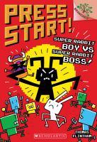 Cover image for Super Rabbit Boy vs. Super Rabbit Boss! / by Thomas Flintham.