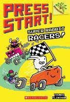 Cover image for Super Rabbit racers / Thomas Flintham.