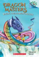 Cover image for Waking the rainbow dragon / by Tracey West ; illustrated by Damien Jones.