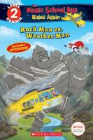 Cover image for Rock Man vs. Weather Man / by Samantha Brooke.