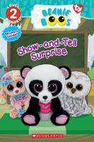 Cover image for Show-and-tell surprise / by Jenne Simon.