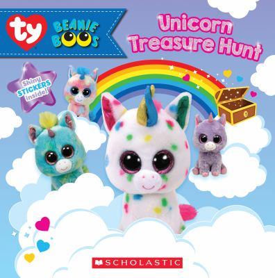 Cover image for Unicorn treasure hunt / by Meredith Rusu.