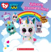 Cover image for Unicorn treasure hunt / by Meredith Rusu.