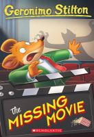 Cover image for Geronimo Stilton #73: The Missing Movie