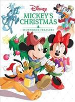 Cover image for Mickey's Christmas storybook treasury.