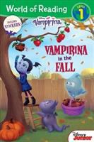Cover image for Vampirina in the fall / written by Sara Miller ; illustrated by Imaginism Studio and the Disney Storybook Art Team.