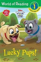 Cover image for Lucky pups! / adapted by Brooke Vitale ; illustrated by the Disney Storybook Art Team.