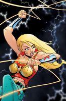 Cover image for Teen Titans spotlight : Wonder Girl / J. Torres, writer ; Sanford Greene, penciller ; Nathan Massengill, inker ; Guy Major, colorist ; Pat Brosseau, Phil Balsman, Steve Wands, letterers ; Sanford Greene and Nathan Massengill, original series covers.