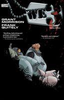 Cover image for WE3 : the deluxe edition / Grant Morrison, writer ; Frank Quitely, artist ; Jamie Grant, colorist and digital inker ; Todd Klein, letterer.