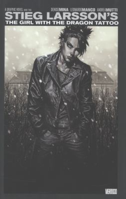 Cover image for The girl with the dragon tattoo. Book 2 / adapted by Denise Mina ; art by Leonardo Manco and Andrea Mutti ; colors by Giulia Brusco and Patricial Mulvihill ; letters by Steven Wands ; cover by Lee Bermejo.