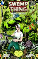 Cover image for Swamp Thing / by Scott Snyder ; written by Scott Snyder, Jeff Lemire, Scott Tuft ; art by Yanick Paquette, Marco Rudy, Steve Pugh, Becky Cloonan, Andrew Belanger, Francesco Francavilla, Kano, Victor Ibáñez, Timothy Green II, Karl Kerschl, [and 5 others] ; colors by Nathan Fairbairn, Val Staples, Lee Loughridge, Lovern Kindzierski, Francesco Francavilla, Matthew Wilson, David Baron, Tony Avina ; letters by Travis Lanham, John J. Hill, Jared K. Fletcher, Carlos M. Mangual.