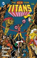 Cover image for The new teen titans. v.5 / written by Marv Wolfman ; art by George Pérez and Romeo Tanghal with Pablo Marcos.