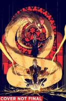 Cover image for Constantine, the Hellblazer. Vol. 2, The art of the deal / written by Ming Doyle, James Tynion IV ; art by Riley Rossmo, Travel Foreman, Eryk Donovan, Brian Level, Joseph Silver ; color by Ivan Plascencia, Kelly Fitzpatrick ; lettters by Tom Napolitano ; covers by Riley Rossmo.