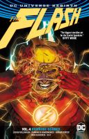 Cover image for The Flash. Vol. 4, Running scared / Joshua Williamson, writer ; Howard Porter, Carmine Di Giandomenico [and five others], artists ; Ivan Plascencia [and two others], colorists ; Steve Wands, letterer.