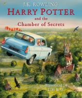 Cover image for Harry Potter and the chamber of secrets / J.K. Rowling ; illustrated by Jim Kay.