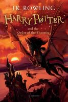 Cover image for Harry Potter and the Order of the Phoenix / J.K. Rowling.