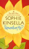 Cover image for Remember me? [large print] / Sophie Kinsella.