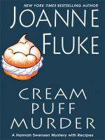 Cover image for Cream puff murder [large print] : a Hannah Swensen mystery with recipes / Joanne Fluke.
