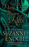 Cover image for The devil wears kilts [large print] / Suzanne Enoch.