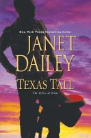 Cover image for Texas tall [large print] / Janet Dailey.