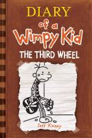 Cover image for Diary of a wimpy kid. The third wheel / by Jeff Kinney.