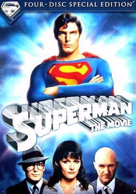 Cover image for Superman [DVD] / released by Warner Bros. ; [presented by] Alexander Salkind ; [an Alexander and Ilya Salkind production] ; story by Mario Puzo ; screenplay by Mario Puzo ... [et al.] ; produced by Pierre Spengler ; directed by Richard Donner.