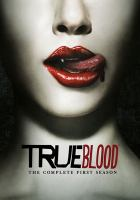Cover image for True blood. The complete first season [DVD] / HBO Entertainment ; producer, Alexander Woo ; produced by Carol Dunn Trussell ; executive producer, Alan Ball ; created by Alan Ball ; Your Face Goes Here Entertainment ; a presentation of Home Box Office.