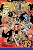 Cover image for One piece. Volume 64, 100,000 vs. 10 / story and art by Eiichiro Oda ; [English adaptation by Lance Caselman ; translation, JN Productions ; touch-up art & lettering, Vanessa Satone].