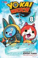 Cover image for Yo-Kai watch. 8, A boohoo battle / story and art by Noriyuki Konishi ; original concept and supervised by Level-5 Inc. ; [translation/Tetsuichiro Miyaki ; English adaptation/Aubrey Sitterson ; lettering, John Hunt].