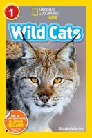 Cover image for Wild cats / Elizabeth Carney.