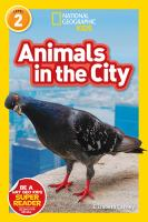 Cover image for Animals in the city / by Beth Carney.