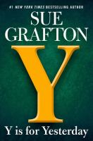 Cover image for Y is for yesterday [large print] / Sue Grafton.