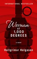 Cover image for Woman at 1,000 degrees [large print] / Hallgrimur Helgason ; translated by Brian FitzGibbon.