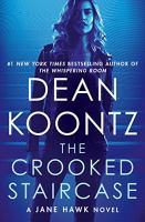 Cover image for The crooked staircase [large print] / Dean Koontz.