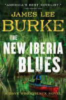 Cover image for The New Iberia blues [large print] / James Lee Burke.