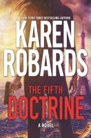 Cover image for The fifth doctrine [large print] / Karen Robards.